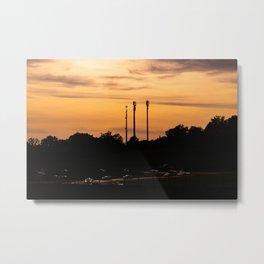 Sunset formation Metal Print
