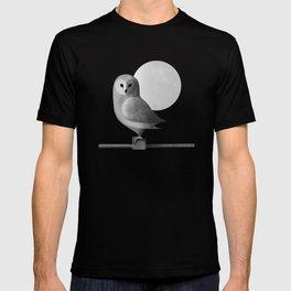 Barn Owl Full Moon T-shirt