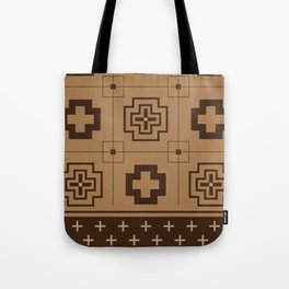 The Directions (Brown) Tote Bag