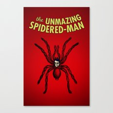 The Unmazing Spidered-Man Canvas Print