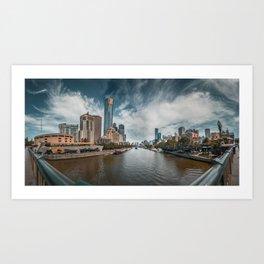 Melbourne Northside Art Print