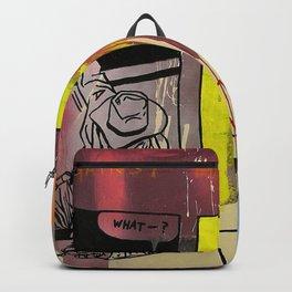 kicking against the kunst Backpack