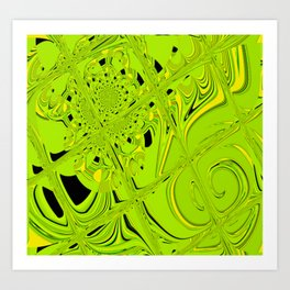 Bright Tiles Art Print