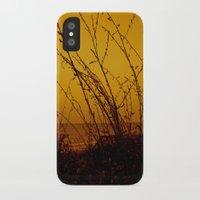 north carolina iPhone & iPod Cases featuring North Carolina Dunes by Madison Genevieve