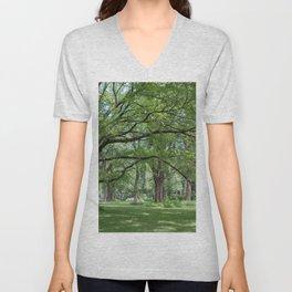 Elm Trees Unisex V-Neck