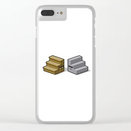 Stares Clear iPhone Case