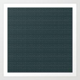 Coit Pattern 49 Art Print