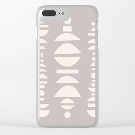 SHAPEY Clear iPhone Case