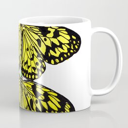 Black & Yellow Butterfly Coffee Mug