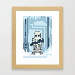 EP5 : Snowtrooper Framed Art Print