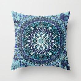 Monterey Mandala Throw Pillow