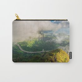 Stairway to Heaven, Hawaii Carry-All Pouch