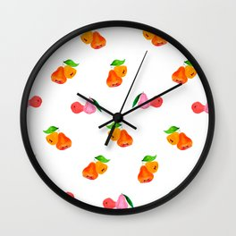 Jambu II (Wax Apple) - Singapore Tropical Fruits Series Wall Clock