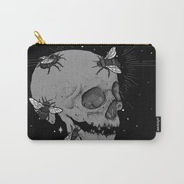 Skul & Bees Carry-All Pouch