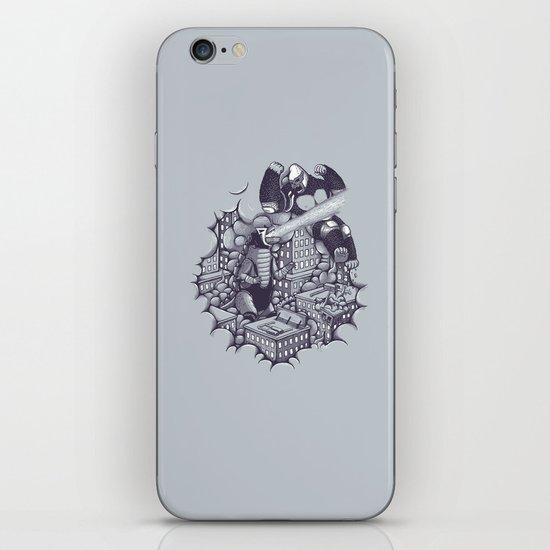 Lucha Kaiju iPhone & iPod Skin