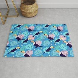 Cute Toucans pattern Rug
