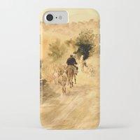 return iPhone & iPod Cases featuring Return Home by Vargamari