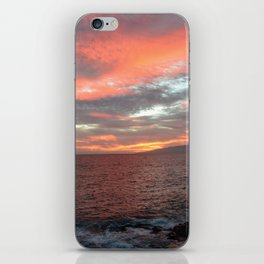 Cielo di fuoco. iPhone Skin