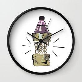 Perth Beer Love Wall Clock