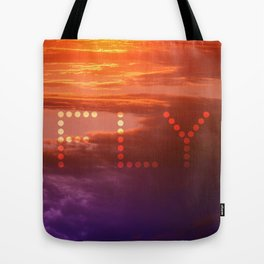 Sunset Fly Tote Bag