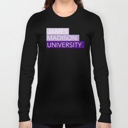 JMU Blocks Long Sleeve T-shirt