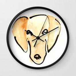 Daschshund Wall Clock