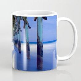 Topsail Pier on Clouds Coffee Mug