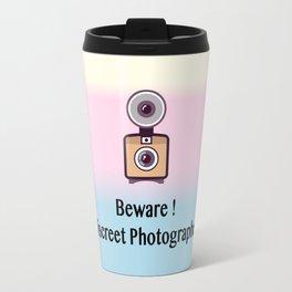 Beware, discreet photographer Travel Mug