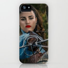 lena luthor -musketeer iPhone Case
