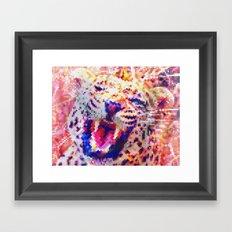 Rainbow Roar Framed Art Print