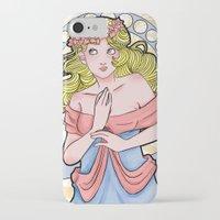art nouveau iPhone & iPod Cases featuring Art Nouveau  by Brizy Eckert