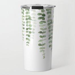 Eucalyptus Watercolor Travel Mug