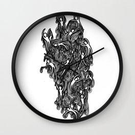 Ooey Gooey Men 3 Wall Clock