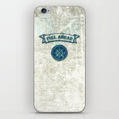 FULL AHEAD iPhone & iPod Skin