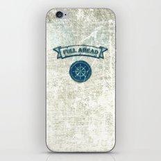 FULL AHEAD iPhone & iPod Skin