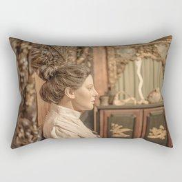 la salle d'attente Rectangular Pillow