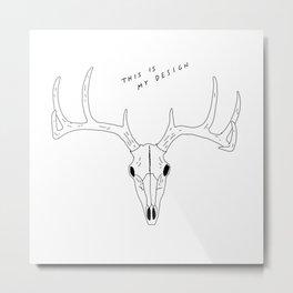 MY DESIGN Metal Print