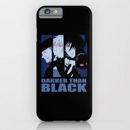 Darker Than Black Huang Hei Yin And Mao iPhone Case