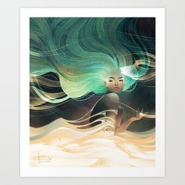 Aurorae Art Print