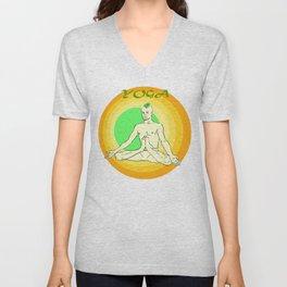 Yoga: asana Unisex V-Neck