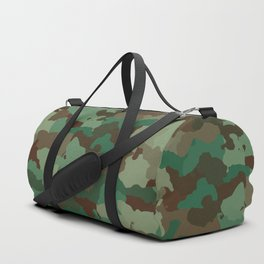 Forest camoflauge pattern Duffle Bag