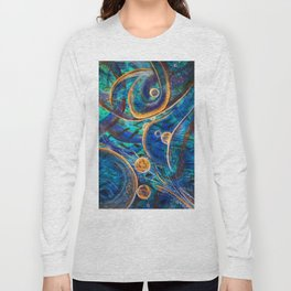 """Layers of Time"", Vernal Pools of Thought & Mind Long Sleeve T-shirt"