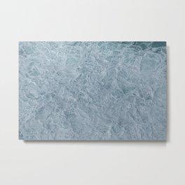 Foaming Seas Metal Print