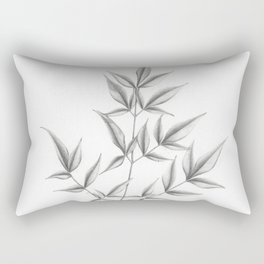 Nandina domestica Rectangular Pillow