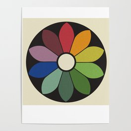 James Ward's Chromatic Circle Poster