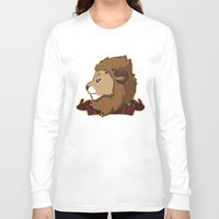 gryffindor Long Sleeve T-shirts featuring Gryffindor by Clair C