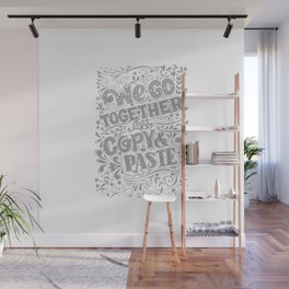 Copy and Paste couple Wall Mural
