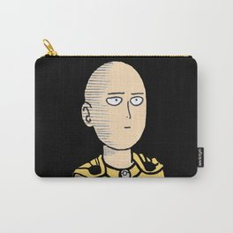 One Punch-Man Saitama Face 2 Carry-All Pouch