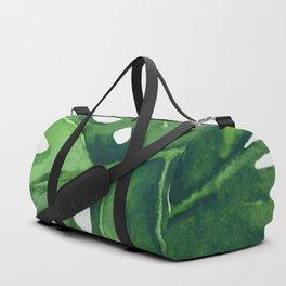 Monstera Leaf Duffle Bag