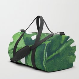 Monstera Leaf Duffle Bag